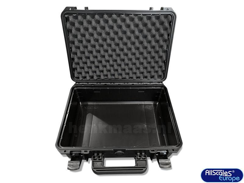 plastic carrying case (empty)