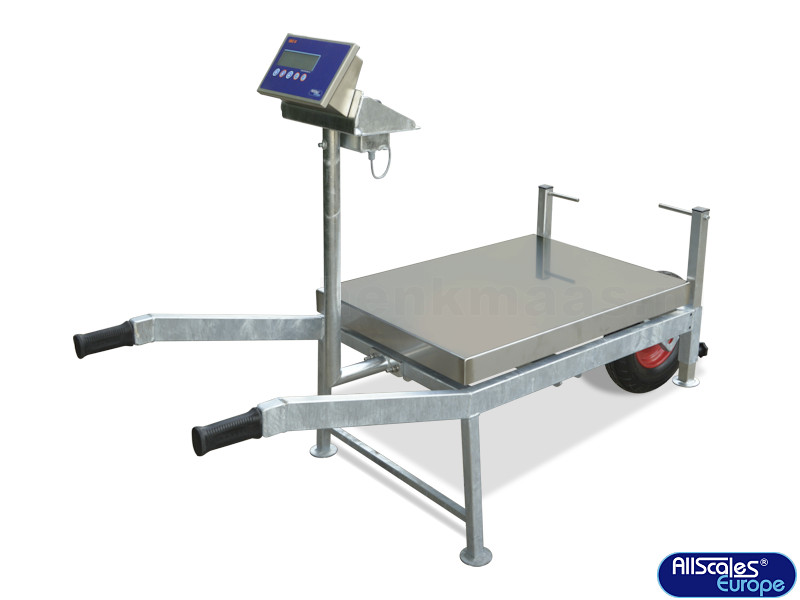 mobile scale AMS, galvanised construction