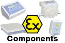 Atex weighing components