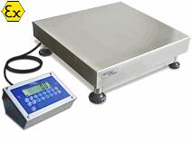 Atex BXR Bankweegschaal 400x400mm 212x159