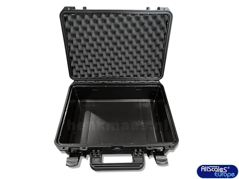 plastic carrying case (empty)